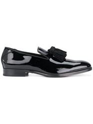 Jimmy Choo Foxley Slippers Black