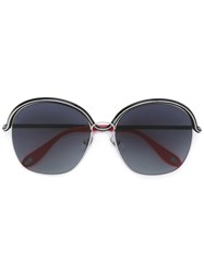 Givenchy 'Circle Wire' Sunglasses Black