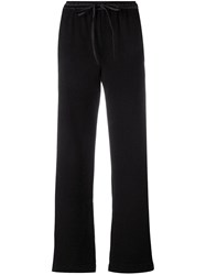 Andrea Ya'aqov Cropped Trousers Black