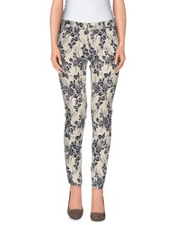 Kaos Jeans Trousers Casual Trousers Women Ivory