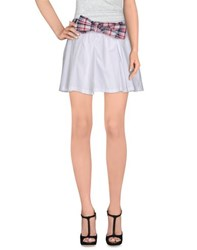 Duck Farm Skirts Mini Skirts Women White