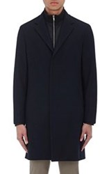 Theory Men's Delancey Overcoat Blue