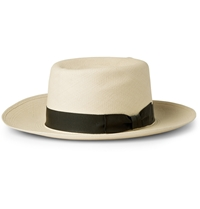 Lock And Co Hatters Woven Straw Panama Hat White