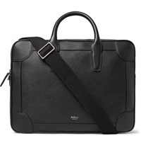 Mulberry Full Grain Leather Briefcase Black