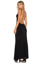 Rise Take Me Backless Dress Black