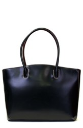 Lodis 'Audrey Milano' Leather Computer Tote Black Black Red