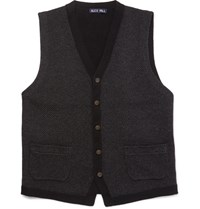 Alex Mill Merino Wool Gilet Charcoal