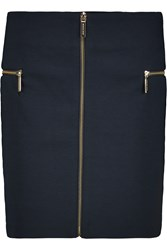 Michael Michael Kors Stretch Jersey Mini Skirt Blue