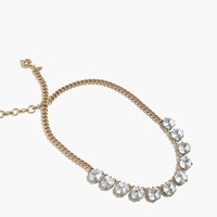 J.Crew Colorful Crystal Necklace