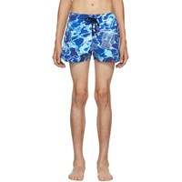 Vilebrequin Blue Man Splash Swim Shorts