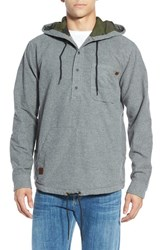 Men's Billabong 'Rover' Core Fit Flannel Pullover Hoodie