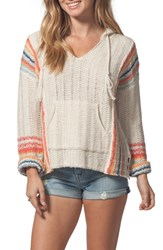 Rip Curl Sedona Hooded Knit Pullover Multico