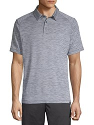 Hawke And Co Space Dyed Polo Mirage