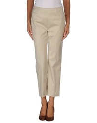 Akris Punto Casual Pants Beige