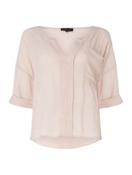Label Lab Amy Woven Shirt Pink