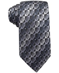 John Ashford Mini Geo Ii Tie Only At Macy's Black