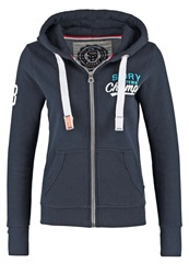 Superdry Super Track Tracksuit Top Eclipse Navy Dark Blue