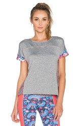 Maaji Blooming The Sky Shirt Gray