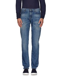 Tru Trussardi Denim Denim Trousers Men Blue