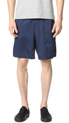 Fred Perry Performance Tennis Shorts Navy White