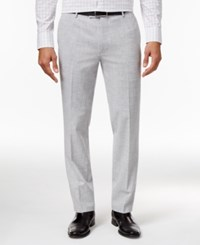 Inc International Concepts Men's Oliver Slim Fit Chambray Pants Only At Macy's Light Grey