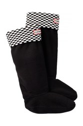 Hunter Original Tall Square Brick Boot Sock Black