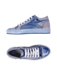 Ice Iceberg Footwear Low Tops And Trainers Men Bright Blue