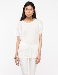 Base Range Loose Tee In Off White