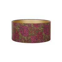 Liberty London Jubilee Lampshade Kate Ada Garnet Ceiling 45X21cm