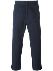 Ports 1961 Cropped Trousers Blue