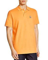 Psycho Bunny Classic Bunny Regular Fit Polo Shirt Nasaturtium
