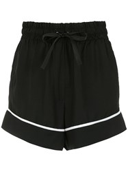 Andrea Bogosian High Waisted Shorts Black