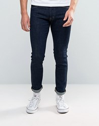 Denim And Supply Ralph Lauren Skinny Jeans Graham In Rinse Wash Blue