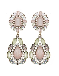 Pixie Market Irene Gem Drop Statement Earrings