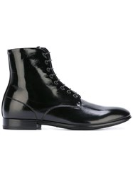 Raparo Lace Up Boots Black