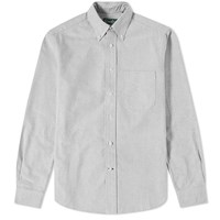Gitman Brothers Vintage Button Down Oxford Shirt Grey