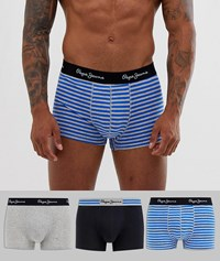 Pepe Jeans Short Edson Trunk 3 Pack Multi