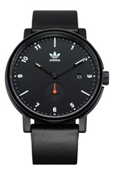 Adidas District Leather Strap Watch 40Mm