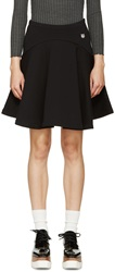 Kenzo Black Fleece Circle Skirt