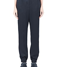 Lanvin Relaxed Cuffed Pants Black