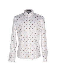 Frankie Morello Shirts Shirts Men White