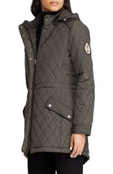 Lauren Ralph Lauren Quilted Coat Dark Moss