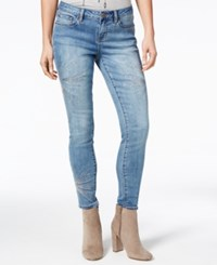 Rampage Juniors' Sequined Skinny Jeans Rochas