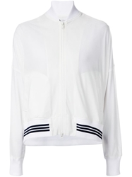 Y 3 Sheer Bomber Jacket White