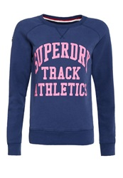 Superdry Athletics Crew Blue
