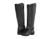 Roper Studded Harness Riding Boot Black Cowboy Boots