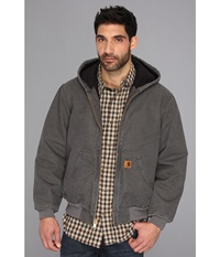 Carhartt Qfl Sandstone Active Jacket Gravel Men's Coat Silver