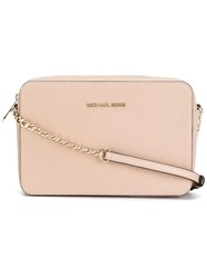 Michael Michael Kors Zipped Shoulder Bag Nude Neutrals