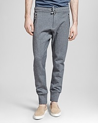 The Kooples Heavy French Terry Sweatpants Grey