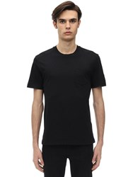 Belstaff Thom 2.0 Cotton Jersey T Shirt Black